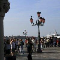 туристы в Венеции. :: Лидия кутузова
