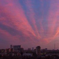 Утро. Движение облаков. :: Евгений Поляков