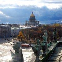 Вид с крыши Эрмитажа. :: Харис Шахмаметьев