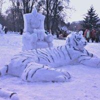 Выставка ледяных фигур. :: Nonna
