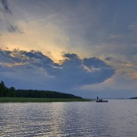 Рыбаки на Ковжском озере :: Валерий Талашов