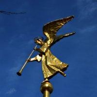 Архангел Гавриил на золотом флюгере . Талеж. :: Маry ...