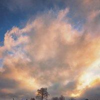 Как Весна с Зимой встретились... :: Александр Никитинский