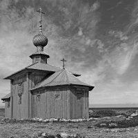 Церковь Андрея Первозванного 1702год :: Сергей Яснов