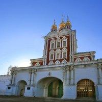 моя столица- новодевичий монастырьбн :: юрий макаров
