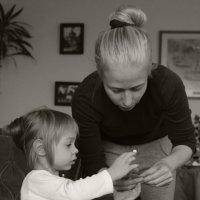 С мамой. :: Larisa Gavlovskaya