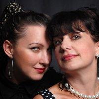 """Мама и дочь :: Фотостудия """" ВЛАСТА"""""""