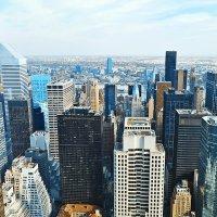 Нью-Йорк со смотровой в Рокфеллер-центре :: Екатерина Т.