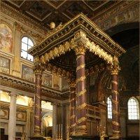 Италия, Рим, интерьер базилики Санта Мария Маждоре :: Татьяна Нестерова