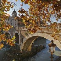 Рим, мост Фабрицио (Ponte Fabricio) :: Татьяна Нестерова