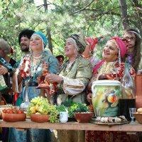 Донские казаки и казачки :: Виктор Масальский