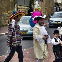 Пурим в Иерусалиме-2014«Израиль, всё о религии...» :: Shmual Hava Retro
