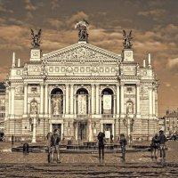 Львовский оперный театр :: Лидия Цапко