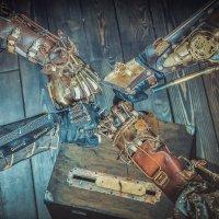 Mechanical brotherhood :: Sergei Korzh