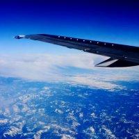 Под крылом самолета :: Мария Сулим