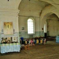 Убранство Церкви Пресвятой Богородицы. :: Ольга Кривых