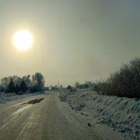 Зимняя дорога. :: Нина
