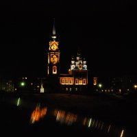 Храм в ночи :: Александр Фищев