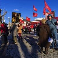 Акция КПРФ в поддержку Референдума по Крыму. :: Валерий Молоток