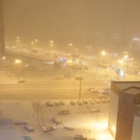 Весенний снегопад... :: navalon M