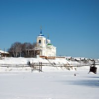 Церковь в Слободе :: Александр Усманов