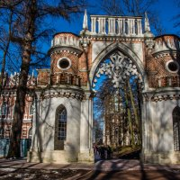 Виноградные ворота :: Виктор Перевозников