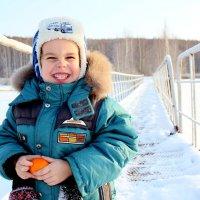 Смешная мандаринка )) :: Ольга Пономарева