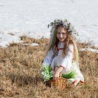 Девочка - весна... :: Галина Шепелева