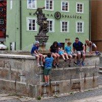 У фонтана. г.Хеб, Чехия :: Lmark