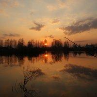 весенний закат :: Михаил Корнев