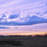 Мартовские закаты :: юрий Амосов