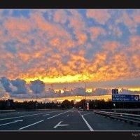 Пожары в небесах, пожары... :: Сергей В. Комаров