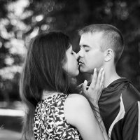 Любовь... Самое начало отношений :: Татьяна Зуева