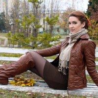 Девушка-осень :: Дарья Хубанова