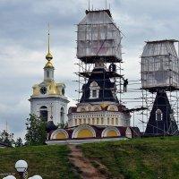 Купола в России кроют золотом... :: Валерий Викторович РОГАНОВ-АРЫССКИЙ
