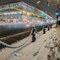 Зима на Невском :: Сергей Вахов