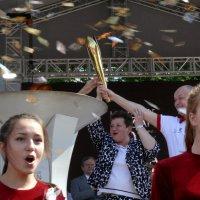 Огонь Универсиады-2013 во Владимире. :: Анатолий Борисов