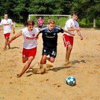 Пляжный футбол. :: Анатолий Борисов