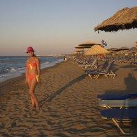Вечер на пляже :: Артур Кочиев
