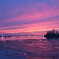 закат на Финском заливе :: Alexandra Starichenok