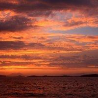 Неаполитанский залив. Раннее утро. :: Алла ************