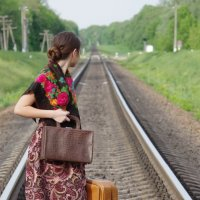 Опоздала на поезд :: Екатерина Бутко