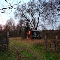 В заброшенном домике поселился Закат :: Юрий Савинский