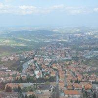 Сан-Марино, взгляд с фуникулера :: Екатерина Мальчикова