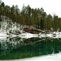 Голубые озера Катуни. :: Владимир Михайлович Дадочкин