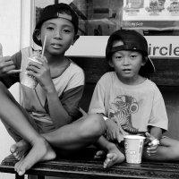 Balinese boys :: Nick K