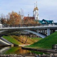 Витебск. Пушкинский мост. Октябрь 2013. :: Анатолий Клепешнёв
