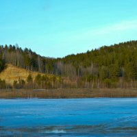 Голубой лёд. :: Алексей Зятиков