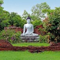 Таиланд, Национальный исторический парк. Статуя Будды :: Владимир Шибинский