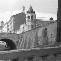 Воронеж 1957. Каменный мост. :: Олег Афанасьевич Сергеев